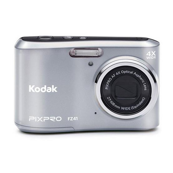 KODAK กล้องดิจิตอล Pixpro FZ41 Silver Free SD 8GB + Bag มูลค่า 490 บาท