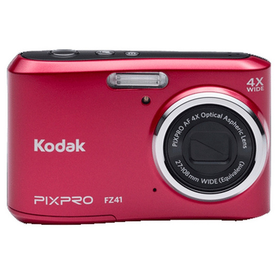 KODAK กล้องดิจิตอล Pixpro FZ41 Red
