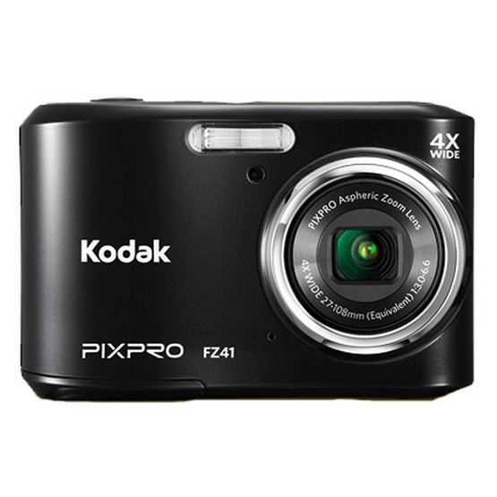 KODAK กล้องดิจิตอล Pixpro FZ41 Black Free SD 8GB + Bag มูลค่า 490 บาท