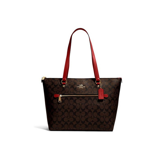 COACH 79609 GALLERY TOTE IN SIGNATURE CANVAS (IMRVQ)
