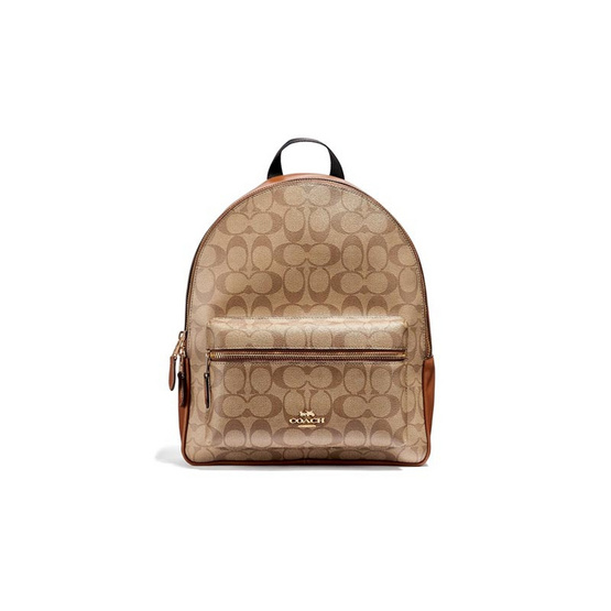 COACH F32200 MEDIUM CHARLIE BACKPACK IN SIGNATURE CANVAS (IME74)