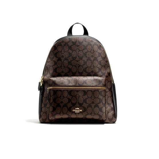 COACH F58314 CHARLIE BACKPACK IN SIGNATURE (IMAA8)