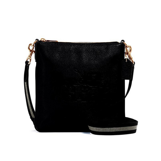COACH 1897 JES SLIM CROSSBODY WITH HORSE AND CARRIAGE (IMBLK)