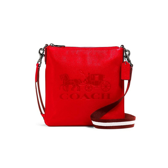 COACH 1897 JES SLIM CROSSBODY WITH HORSE AND CARRIAGE (QBQRG)