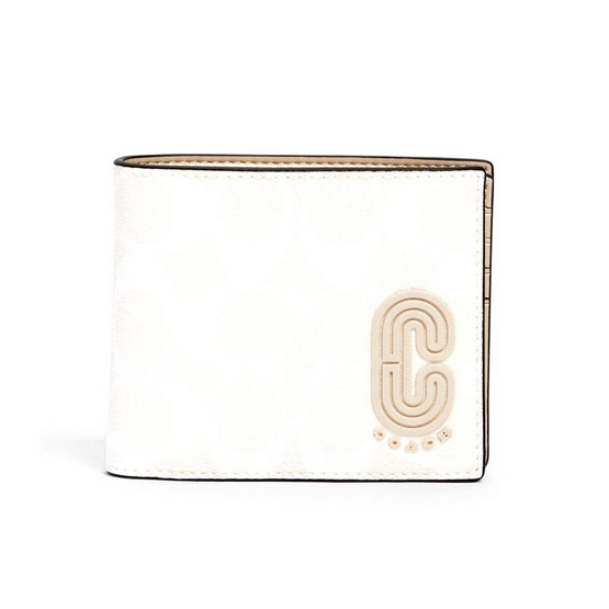 COACH 2838 3-IN-1 WALLET IN SIGNATURE CANVAS WITH COACH PATCH (QBR14)