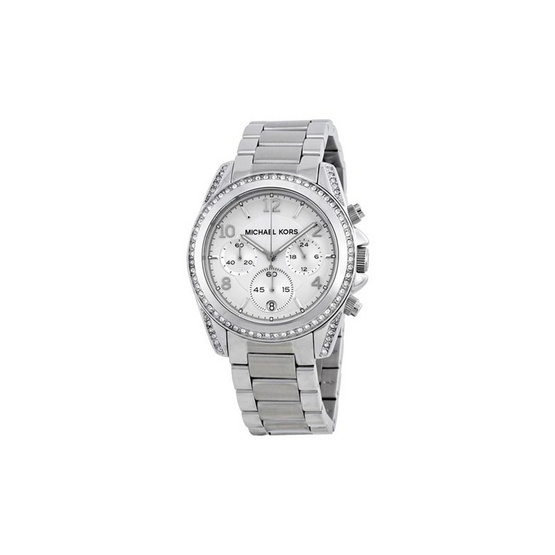 Michael MK5165 Chronograph White Crystal Ladies Watch