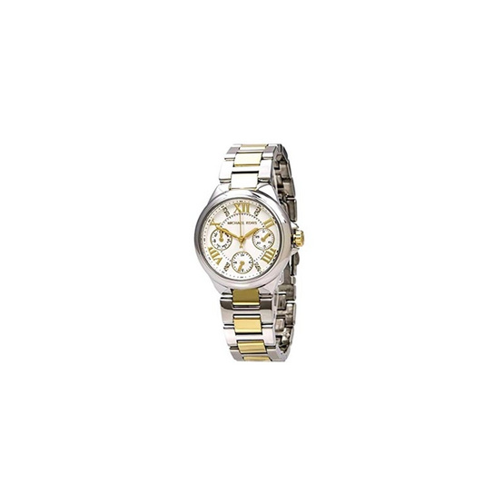 Michael MK5760 Multi-Function White Dial Two-tone Ladies Watch