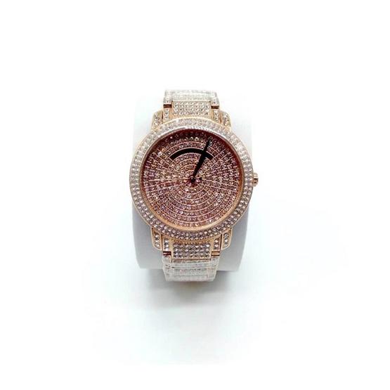 Michael MK6548 Ladies Darci All Crystal Rosegold Dress Watch