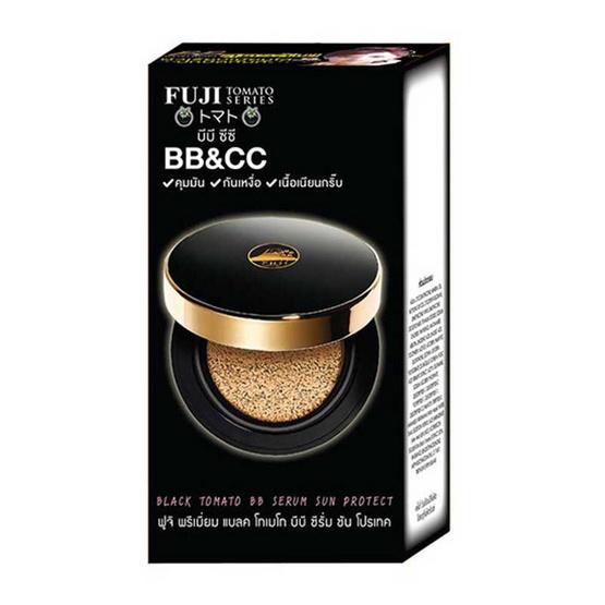 FUJI บีบีครีม PREMIUM BLACK TOMATO BB SERUM SUN PROTECT 10 กรัม (แพ็ก 6 ชิ้น)