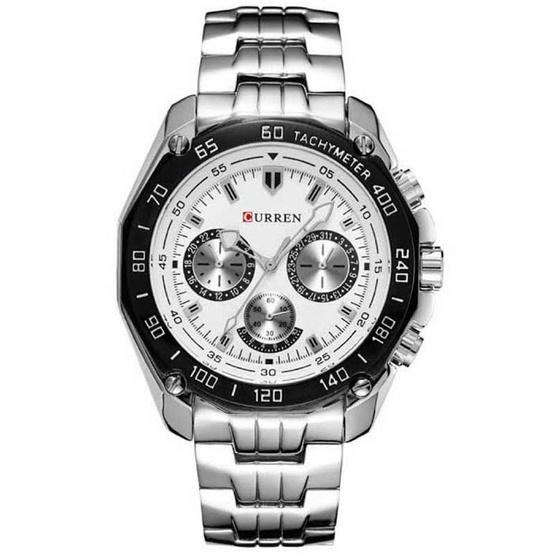 Curren นาฬิกาข้อมือ รุ่น CU8077-SIWH
