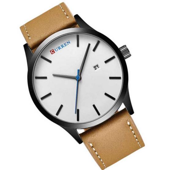 Curren นาฬิกาข้อมือ รุ่น CU8214-BR/WH