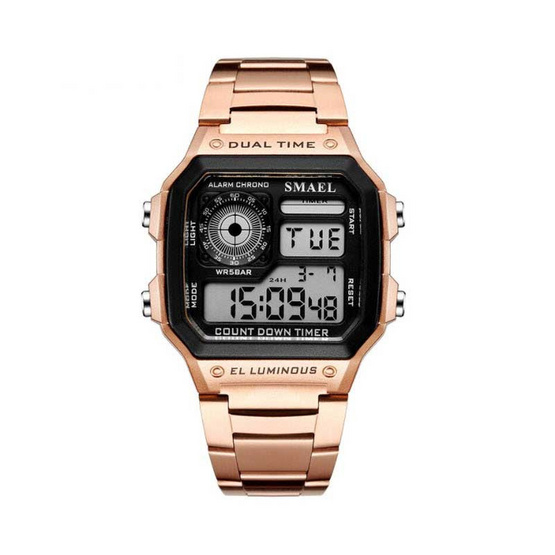 Smael นาฬิกาข้อมือ รุ่น SM1818-ROS