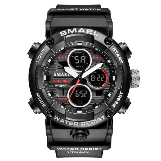 Smael นาฬิกาข้อมือ รุ่น SM8038-BK/SI