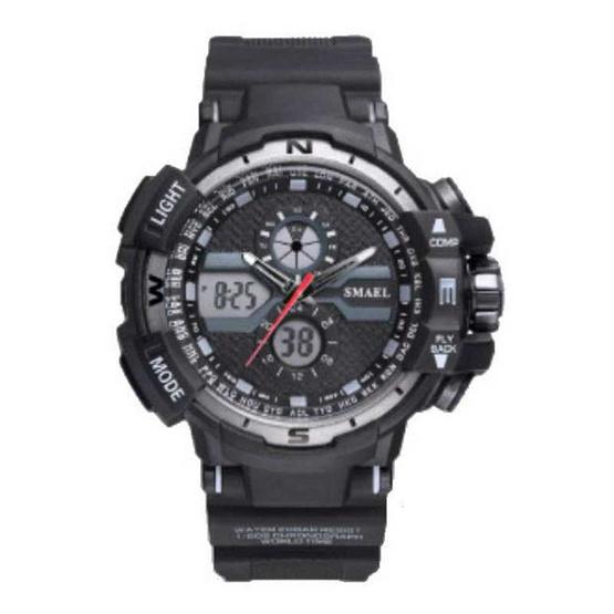 Smael นาฬิกาข้อมือ รุ่น Sm1376A-GY