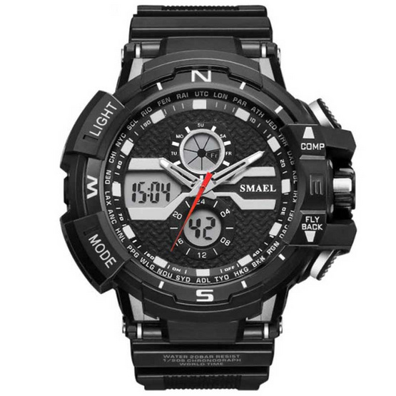 Smael นาฬิกาข้อมือ รุ่น Sm1376A-BK