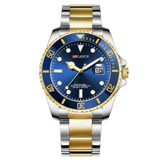 ARLANCH นาฬิกาข้อมือ รุ่น AL306-BL/GO