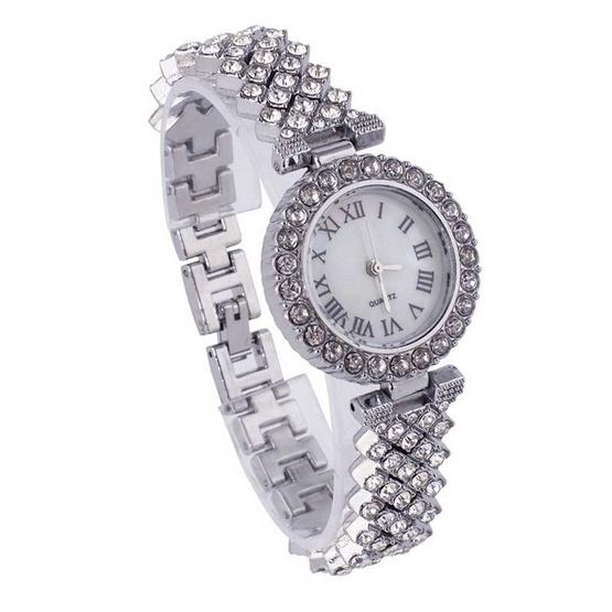 Fancyqube นาฬิกาข้อมือ รุ่น JEWSET3-SI