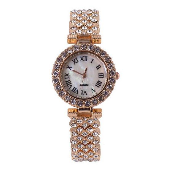 Fancyqube นาฬิกาข้อมือ รุ่น JEWSET3-RG