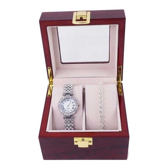 Fancyqube นาฬิกาข้อมือ รุ่น JEWSET2-SI