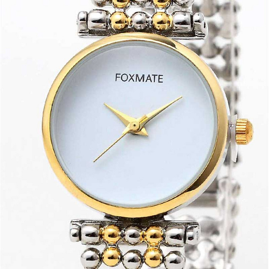 FOXMATE นาฬิกาข้อมือ รุ่น FM6001-SI/GO