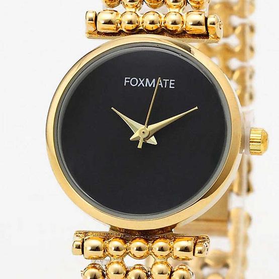 FOXMATE นาฬิกาข้อมือ รุ่น FM6001-GO/BK