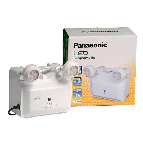 พานาโซนิค ไฟฉุกเฉิน LED 2.5W รุ่น LDR300N