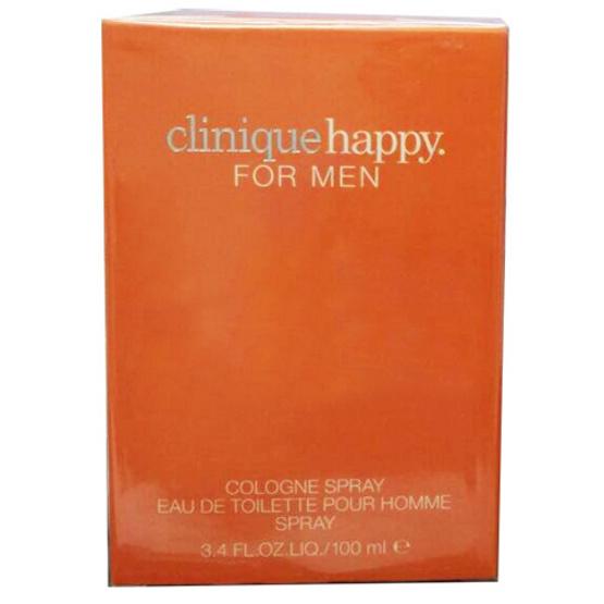 Clinique Happy For Men Cologne Spray Eau De Toilette 100ml. น้ำหอมแท้ พร้อมกล่อง
