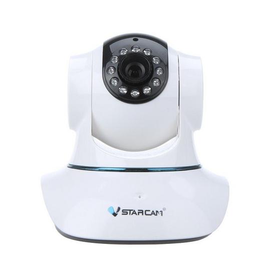 VSTARCAM กล้องไร้สาย IP Camera 1 ล้านพิกเซล รุ่น T6835WIP White