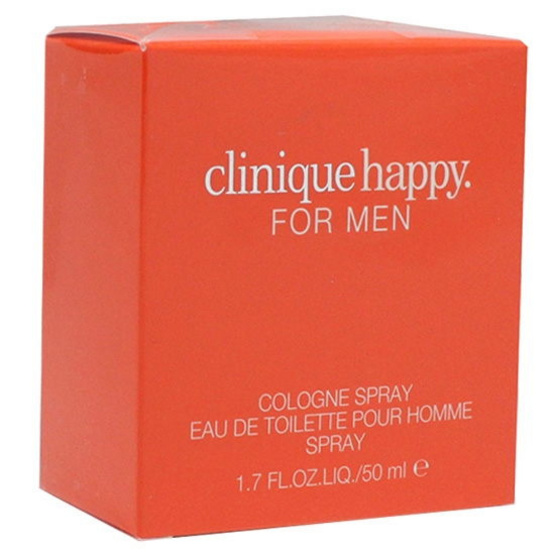 Clinique Happy For Men Cologne Spray 50ml. น้ำหอมแท้ พร้อมกล่อง