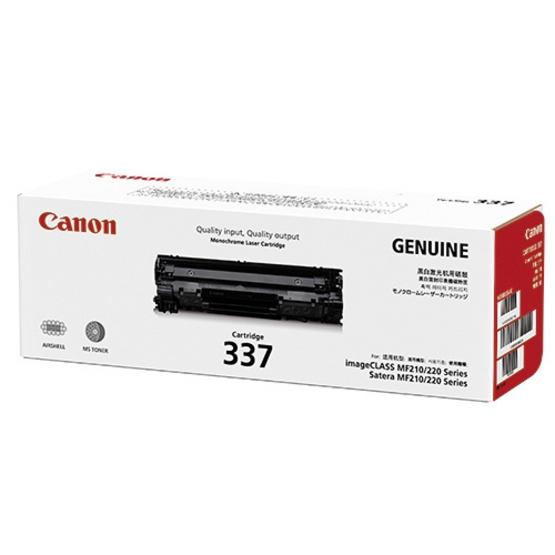Canon ตลับหมึกโทนเนอร์ รุ่น Cartridge 337 สำหรับเครื่องพิมพ์รุ่น MF210 /MF220 Series