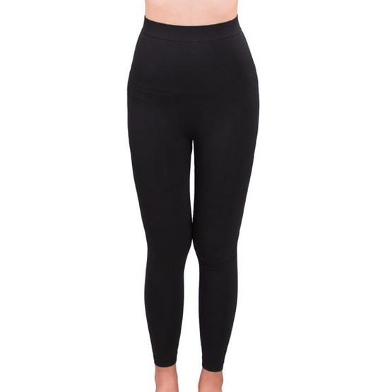 กางเกงเลคกิ้งกระชับสัดส่วน LALITA Slimming Shape สีดำ Free Size