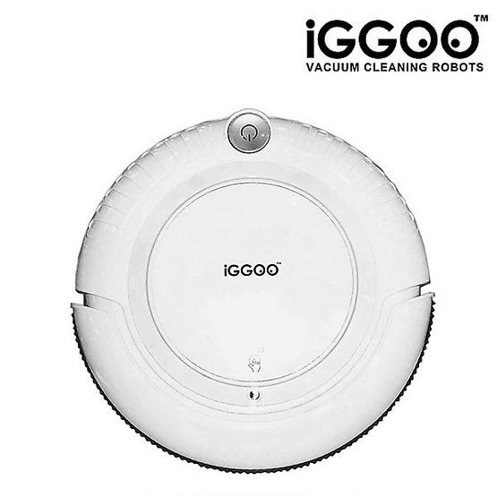 หุ่นยนต์ดูดฝุ่น iGGOO One สีขาว