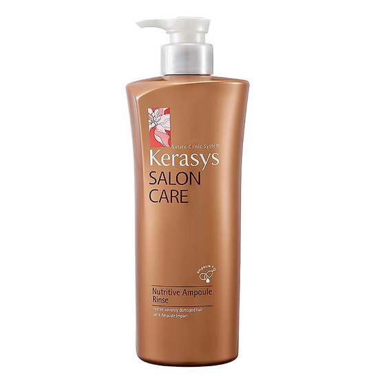 KeraSys Salon Care Nutritive Ampoule Rinse 470 ml.(ครีมนวดผม)