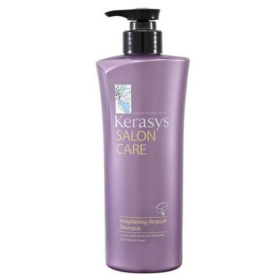 KeraSys Salon Care Straightening Ampoule Shampoo 470 ml