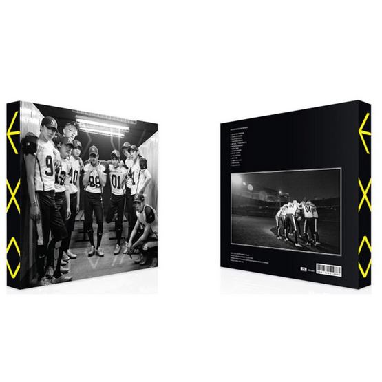 CD EXO The 2nd Repackage Album Love Me Right (Ver.จีน)