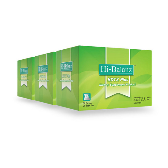Hi-Balanz KDTX Plus 10 ซอง /กล่อง แพ็ค 3
