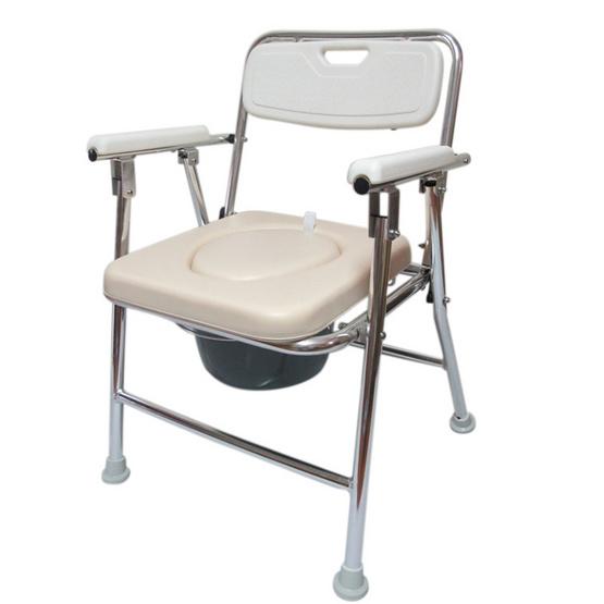 a bloom เก้าอี้นั่งถ่าย อาบน้ำ 2 IN 1 พับได้ สีไข่ไก่