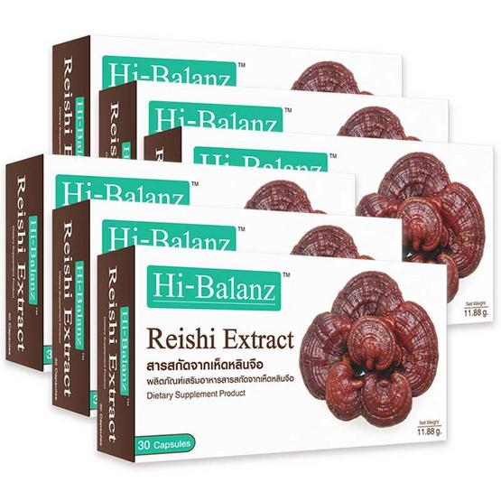 Hi-Balanz Reishi Extract 30 แคปซูล แพ็ค 6