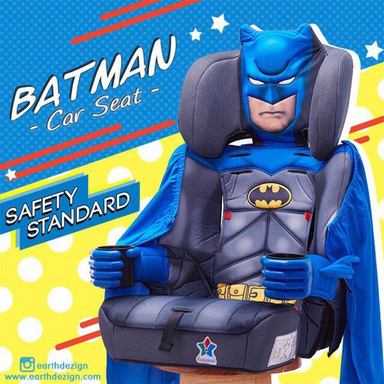 คาร์ซีทเด็กลาย BATMAN Kidsembrace