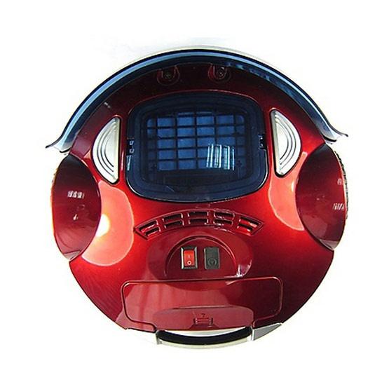 หุ่นยนต์ดูดฝุ่นอัจฉริยะ JOWSUA รุ่น TP-AVC702 สีแดง