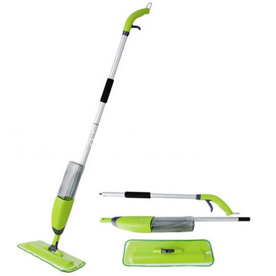 ไม้ถูพื้นอเนกประสงค์ JOWSUA Spary Mop  สีเขียว