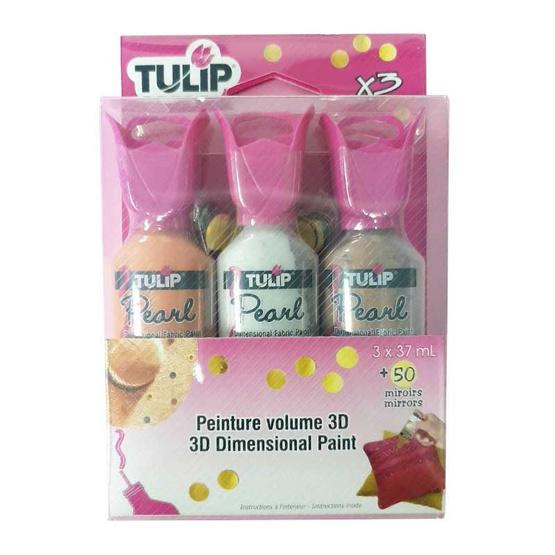 Tulip ชุดสีทิวลิป Pearl 3x37ml 422516