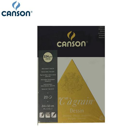 Canson สมุดซีอาเกร็น 24x32 ซม. 224g #200 027 184