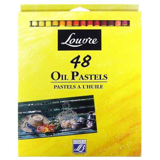Louvre ชุด 48 สีพลาสเทล 806345 กล่องกระดาษ