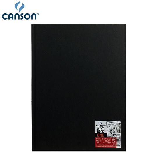 Canson สมุดสเก็ตซ์ ONE DESSIN 100g 21.6x27.9 ซม. (100 แผ่น) 200 005 569