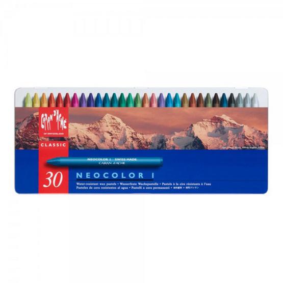 Caran D'ache สีเทียนกันน้ำ รุ่น Neocolor I 30 สี 7000.330