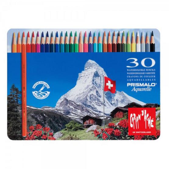 Caran D'ache ดินสอสีระบายน้ำ รุ่น Prismalo 30 สี 999.330