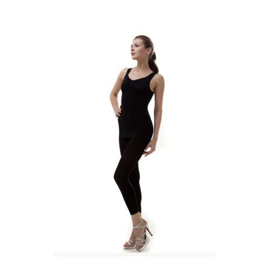 Swans เสื้อกล้ามกระชับสัดส่วน Taping Top Size S-M สีดำ