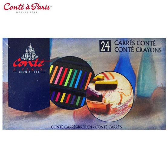 Conte a paris ชุด 24 สี เครยองคองเต้ #750076