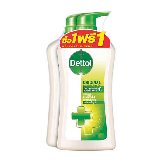 Dettol เจลอาบน้ำ สูตรออริจินัล 500 มล.
